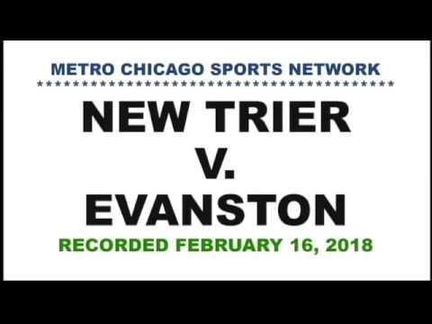 New Trier basketball v Evanston 02 16 18