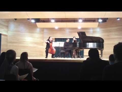 Prokofiev Cello Sonata, Mvt. 3, Jameson Platte And Dino Mulic
