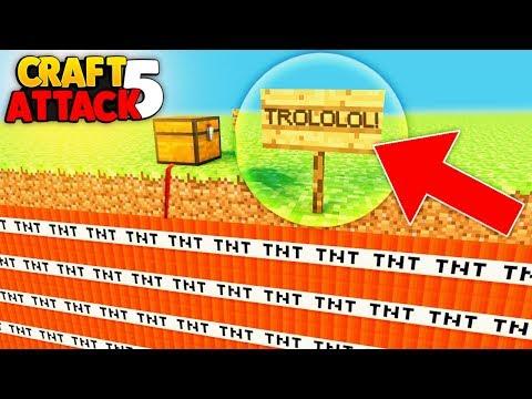 MEGA TNT FALLE AN .... | CRAFT ATTACK 5