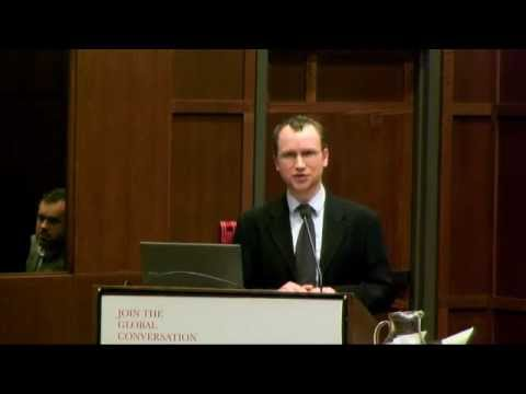 Trudeau Lecture by fellow Macartan Humphreys at Munk School of Global Affairs