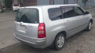 Видео-тест автомобиля Toyota Succeed (Ncp58-0020839 2003г)