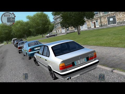 City Car Driving 1 5 4 Bmw 525i E34 Custom Sound G27 Luchshie