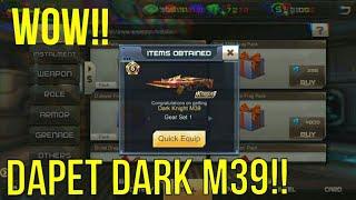 Lucky pack dapat dark M39 || CRISIS ACTION