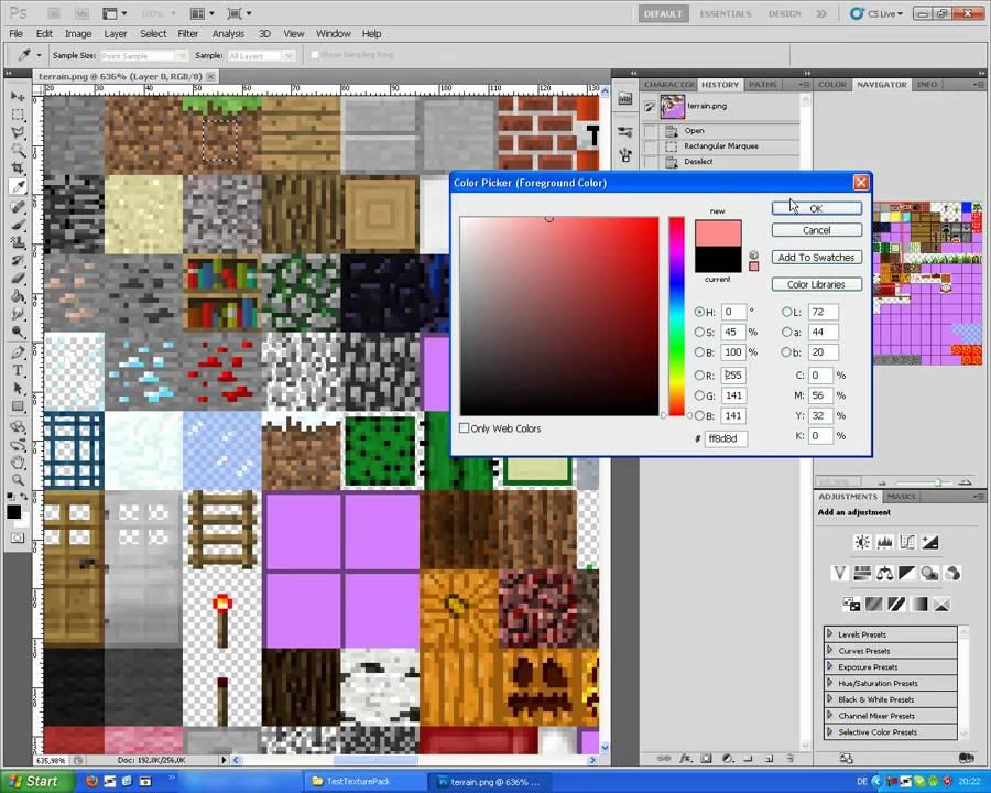 Texture Pack Erstellen