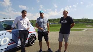 Michelisz Nobival a Hungaroringen teszteltük a Hyundai i30 N-t