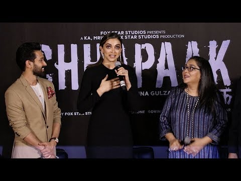 Chhapaak | Official Trailer Launch | Deepika Padukone | Vikrant Massey | Meghna Gulzar |10 Jan 2020
