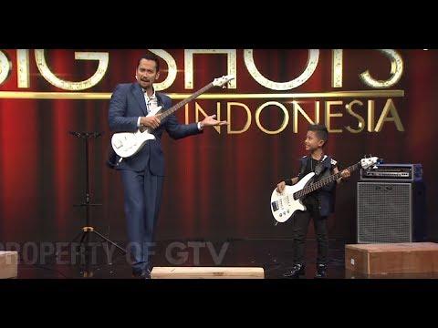 Diajarin Main Bass, Om Tora Sampai Melongo! | Little Big Shots Indonesia Eps. 6 (1/4) GTV 2017