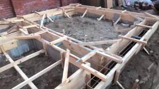 видео Особенности выбора фундамента для бани из сруба