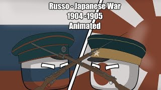 Russo-Japanese War - Animated |Countryballs|