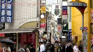 日本旅行東京渋谷 道玄坂小路 センター街 風俗店 飲食店shibuya Tokyo Japan