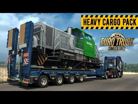 ETS 2 (PC) // SPECIAL: HEAVY CARGO DLC