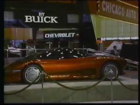 Buick Wildcat Concept At The 1986 Chicago Auto Show Youtube
