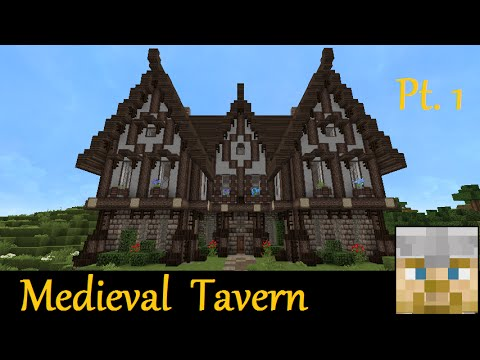 Minecraft Tutorial - Medieval Tavern