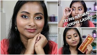 Chatty GRWM New Makeup | Trying new Natural Looking Lashes | Too Faced Gingerbread Spice Palette