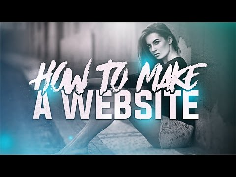 How To Make A Website/Portfolio For FREE! (2017)