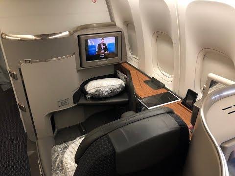 FIRST CLASS L HKG - DFW L 777-300 L American Airlines