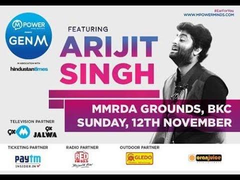 Arijit Singh LIVE at  MUMBAI (BKC MMRDA Ground) | Full Concert 2017