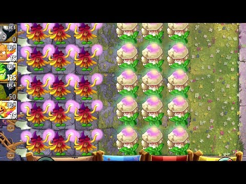 Plants vs Zombies 2 Mod - Tournament Hypno Plants Challenge and Strategy in PVZ 2 Primal