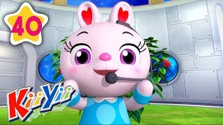 Here We Go Round The Mulberry Bush | Plus More Nursery Rhymes | by KiiYii | Learning Baby Songs