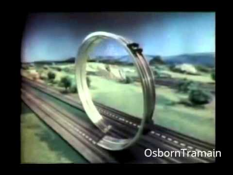 1967 Aurora HO Slot Car TV Commercial