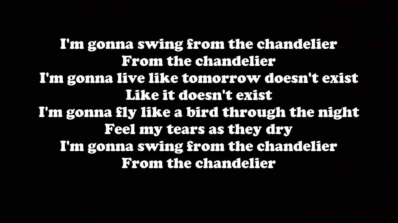 Sia - Chandelier (LETRAS) - YouTube