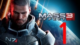 Mass Effect 3 Walkthrough - Part 1 no commentary 1080p Opening Intro PC Paragon ME3