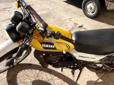 Yamaha DT 250 Enduro 1978