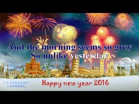 Happy New Year - Karaoke Version - ABBA