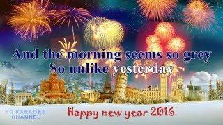 Happy New Year - Karaoke Version - ABBA