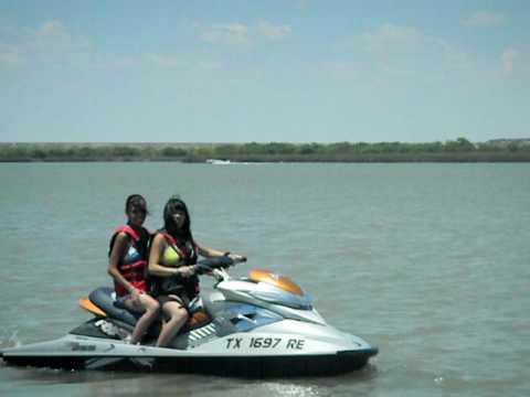 San Angelo Lake..Me Jetskiing..