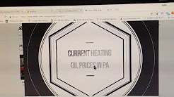 Current Home Heating Oil Prices In PA