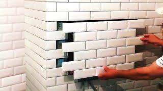 घर में छुपी जगह जिन्हें चोर भी नहीं ढूंढ सकता //Hidden places at home, secret lockers