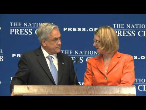 NPC Luncheon with President Sebastián Piñera of Chile