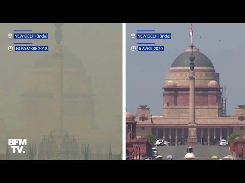 """Inde: New Delhi libérée de son """"nuage de pollution"""" depuis le confinement"""