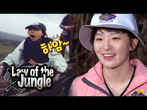 Is Seul Gi Sleeping~? Law of the Jungle Ep 321