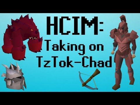 [OSRS] HCIM 57: Taking on TzTok-Chad (1694/2277)