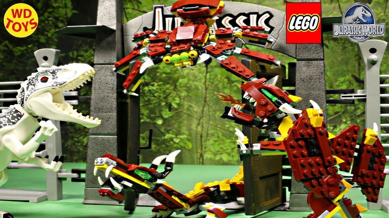 Обзор - LEGO Creator 31032 Огнедышащий дракон (Red Creatures .