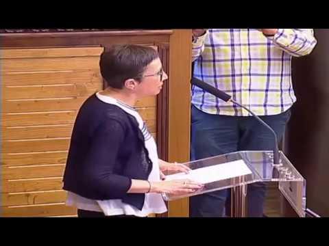 Yolanda Huergo. Discurso sesión de constitución