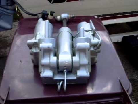 Evinrude working trim tilt unit youtube for Tilt trim motor not working