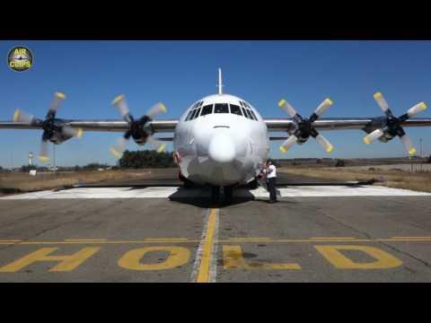Enjoy the VIBES: Lockheed Hercules engine startup (Safair, Johannesburg) [AirClips]