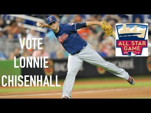 Lonnie Chisenhall 2014 First Half Highlights