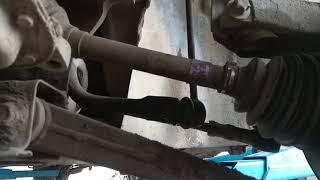 Как правильно снять подрамник FORD Focus - заменить втулки и стойки стабилизатора...