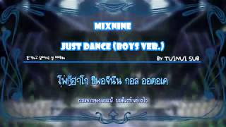 Karaoke Thaisub Mixnine Just Dance Boys Ver..mp3