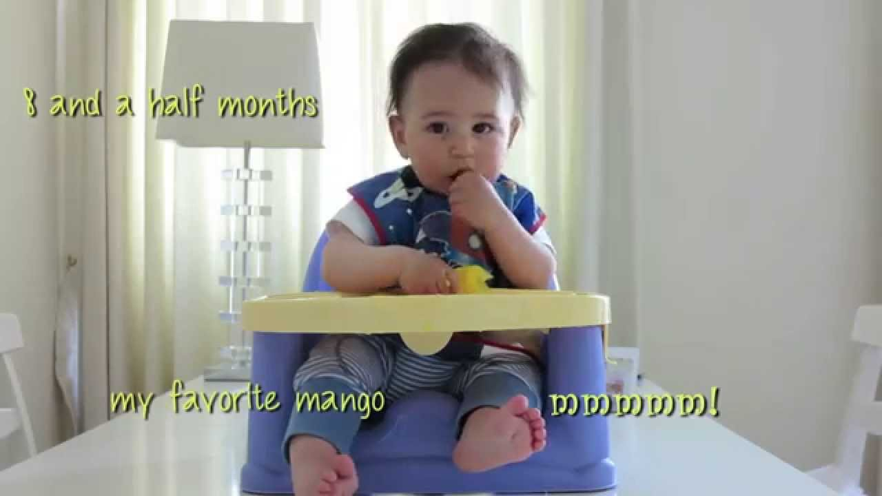 Baby-Led Weaning at 6 Months to 8.5 Months - YouTube 634308c57ad