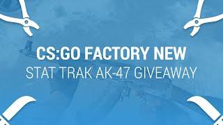 cs go skin giveaway factory new stattrak ak 47