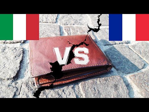 ITALY vs FRANCE - Dropping The Wallet In Public (Social Experiment)