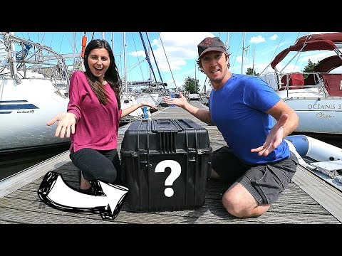 MYSTERY BOX: Guess What a Viewer Sent Us!  | ⛵ Sailing Britaly ⛵