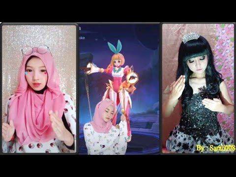 Tik Tok Kece | Menirukan Boneka Barbie World (Angela)