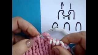 Bind off knitting   Как закрыть петли резинки