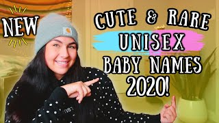 20 Rare & Unique GENDER NEUTRAL/UNISEX Baby Names 2020 (For Boys + Girls) | Baby Names I love!